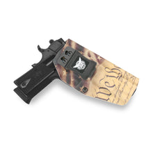 "Sig Sauer 1911 5"" No Rail Only 45ACP KYDEX IWB Concealed Carry Holster"