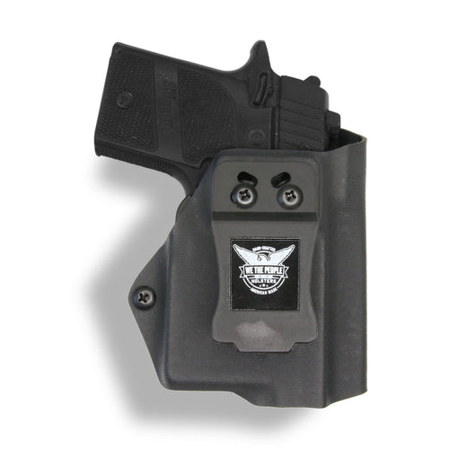 Sig Sauer P938 Micro 9MM/22LR with Streamlight TLR-6 Light/Laser IWB Kydex Concealed Carry Holster