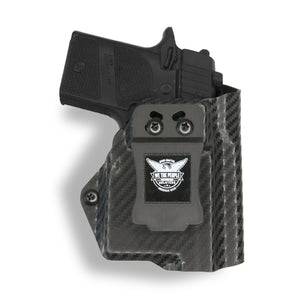 Sig Sauer P938 Micro 9MM/22LR with Streamlight TLR-6 Light/Laser IWB Concealed Carry Holster