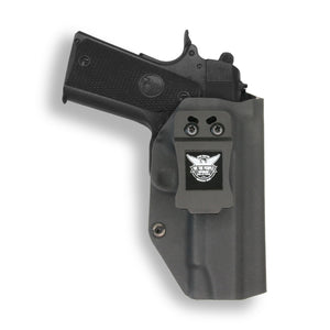 "1911 4"" Commander No Rail Only IWB Kydex Holster for Concealed Carry"