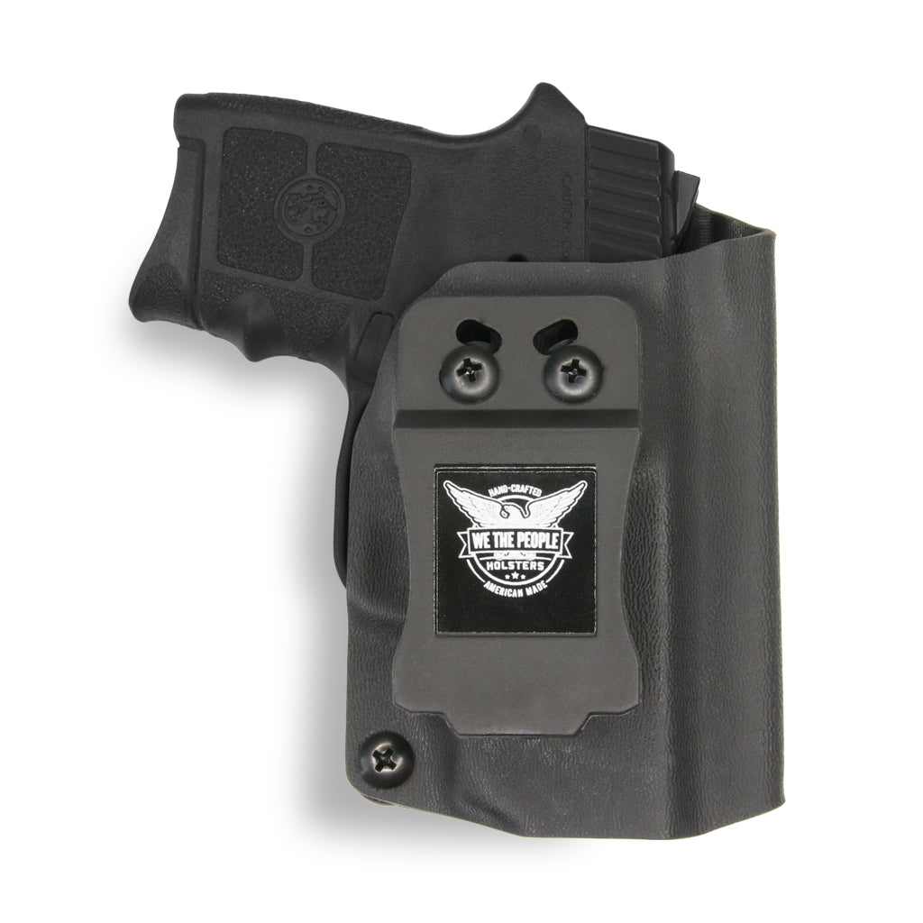 Smith & Wesson M&P Bodyguard 380 with Integrated Crimson Trace Laser KYDEX IWB Concealed Carry Holster