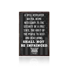 We The People 2nd Amendment Decorative Box