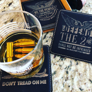 2nd Amendment Coaster Set