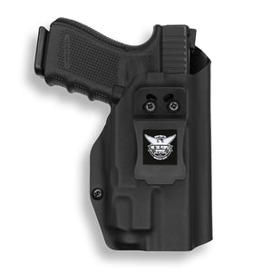Glock 19 23 32 45 19X Gen 3-4-5 with Streamlight TLR-7 Light IWB KYDEX Concealed Carry Holster