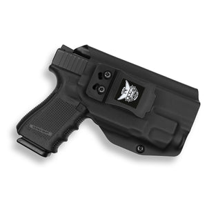Glock 45 with Streamlight TLR-7 Light IWB Holster