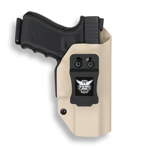 "Colt 1911 4"" Commander With Rail Only RDS Red Dot Optic Cut IWB Holster"