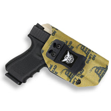 Gadsden Flag Don't Tread on Me Custom Printed Holster - IWB Kydex Holster