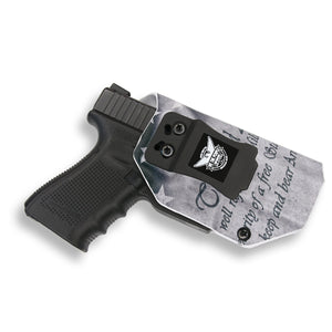 "Springfield 1911 5"" With Rail Only IWB Holster"