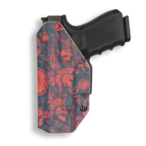 "1911 3.25"" Defender With Rail Only IWB Concealed Carry Kydex Holster"