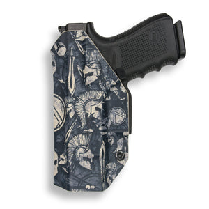 "1911 3.25"" Defender With Rail Only RDS Red Dot Optic Cut IWB KYDEX Concealed Carry Holster"