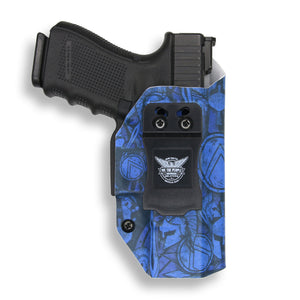 "1911 5"" Government With Rail Only RDS Red Dot Optic Cut IWB Holster"
