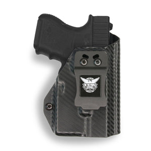 Glock 26 27 33 with Streamlight TLR-6 Light/Laser IWB KYDEX  Concealed Carry Holster