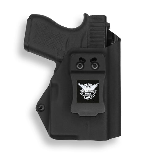 Glock 43/43X with Streamlight TLR-6 Light/Laser IWB Holster
