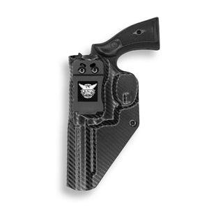 "Smith & Wesson K-Frame 4"" Revolver KYDEX IWB Concealed Carry Holster"