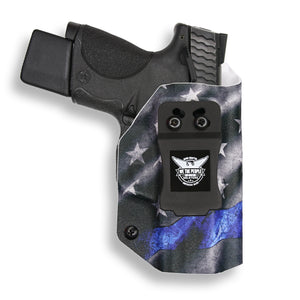 SMITH & WESSON M&P 9C/40C with Manual Safety IWB KYDEX Concealed Carry Holster Gen 3-4-5