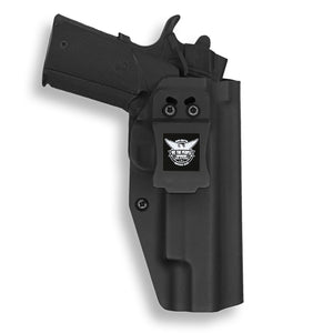 "1911 5"" Government With Rail Only IWB Concealed Carry Kydex Holster"