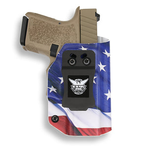 Polymer80 P80 Glock 26 27 33 3 43in KYDEX IWB Concealed Carry Holster
