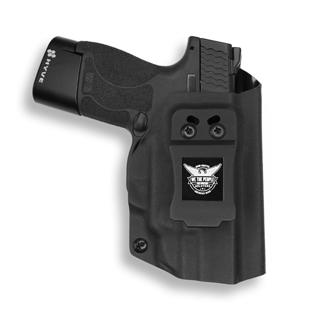 Smith & Wesson M&P Shield / M2.0 with Integrated Crimson Trace Laser 9mm/.40 Kydex Concealed Carry Holster IWB