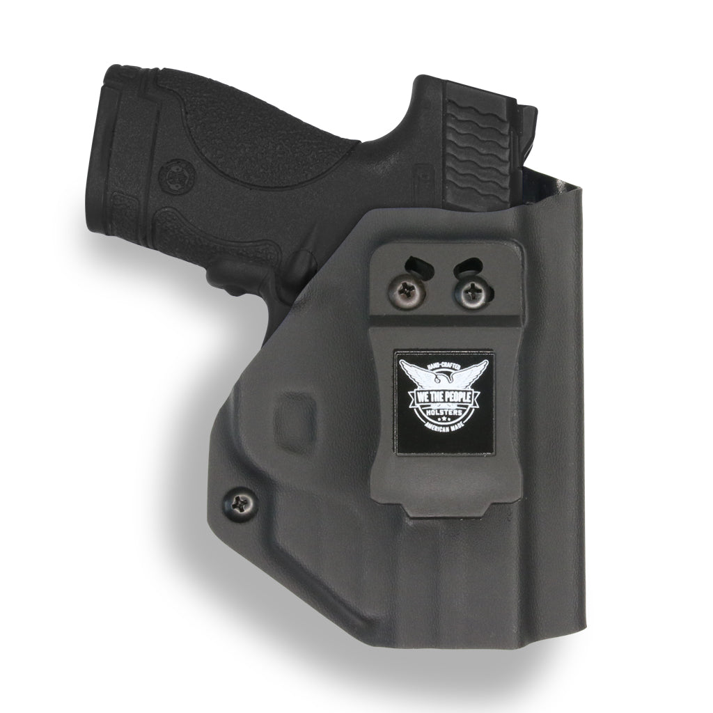 Smith & Wesson M&P Shield / M1.0 M2.0 Crimson Trace LG-489 Laser 9mm/.40 KYDEX IWB Concealed Carry Holster