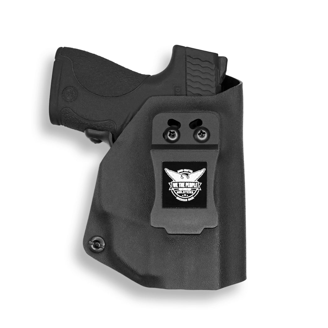 Smith & Wesson M&P Shield / M1.0 M2.0 9mm/.40 with Crimson Trace LG489G Laser KYDEX IWB Concealed Carry Holster