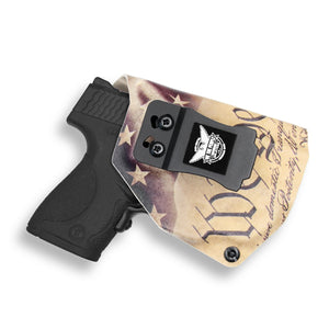 Smith & Wesson M&P Shield / M2.0 9mm/.40 with Crimson Trace LG489G Laser IWB Holster