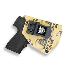 Smith & Wesson M&P Shield / M2.0 9mm/.40 with Crimson Trace LG489G Laser KYDEX IWB Concealed Carry Holster