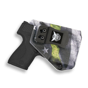 Smith & Wesson M&P Shield / M2.0 9mm/.40 with Streamlight TLR-6 Light/Laser IWB Kydex Concealed Carry Holster