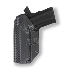 "1911 3.25"" Defender No Rail Only IWB Concealed Carry Kydex Holster"