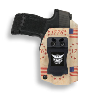 "Sig Sauer 1911 3.3"" No Rail Only 45ACP IWB Holster"