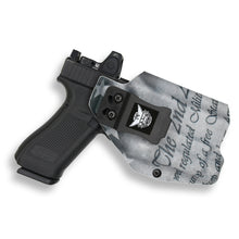 Glock 17 22 31 MOS with Streamlight TLR-1/1S/HL Light RDS Red Dot Optic Cut IWB Holster