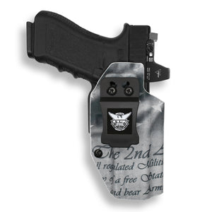 Glock 17 22 31 MOS RDS Red Dot Optic Cut IWB KYDEX Concealed Carry Holster