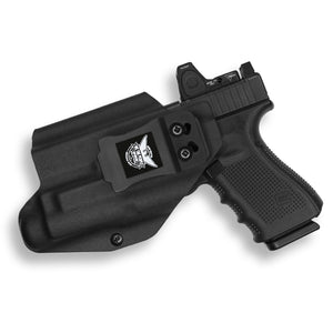 Glock 32 MOS with Streamlight TLR-1/1S/HL Light RDS Red Dot Optic Cut IWB Holster