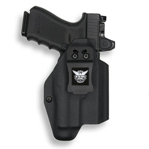 RMR Cut Holster for Glock 45 9MM with Streamlight TLR-7 Carbon Fiber