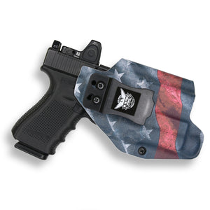 Glock 19/19X MOS with Streamlight TLR-1/1S/HL Light RDS Red Dot Optic Cut IWB Holster