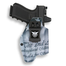 Glock 19 23 32 45 19x MOS with Streamlight TLR-1/1S/HL Light RDS Red Dot Optic Cut IWB KYDEX Concealed Carry Holster