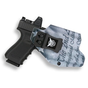 Glock 23 MOS with Streamlight TLR-1/1S/HL Light RDS Red Dot Optic Cut IWB Holster