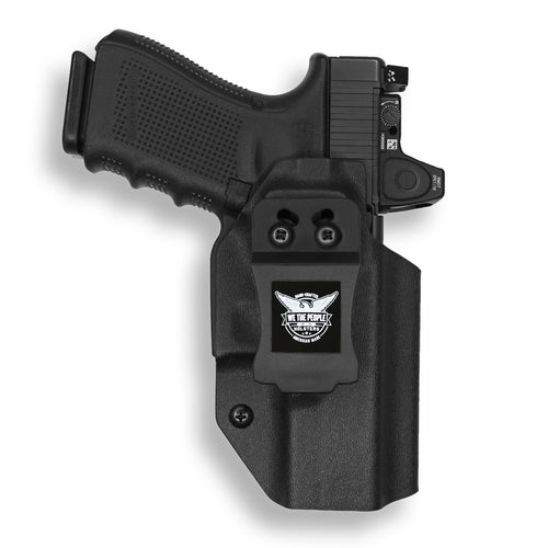 Glock 19/19X MOS RDS Red Dot Optic Cut IWB Holster