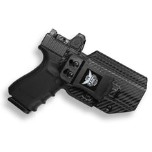 Glock 19 23 32 45 19x MOS RDS Red Dot Optic Cut IWB KYDEX Concealed Carry Holster