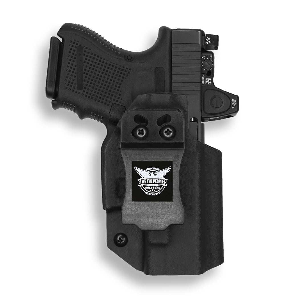 Glock 26 27 33 MOS Gen 3 and 4 RDS Red Dot Optic Cut IWB Holster