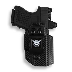 Glock 26 27 33 MOS Gen 3-4-5 RDS Red Dot Optic Cut IWB KYDEX Concealed Carry Holster