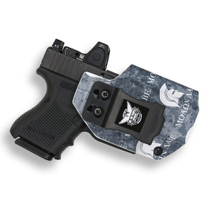 Glock 26 27 33 MOS Gen 3-4-5 RDS Red Dot Optic Cut IWB Holster