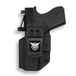 Glock 43/43X MOS RDS Red Dot Optic Cut IWB Holster