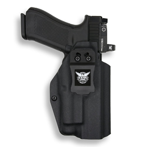 Glock 34 35 MOS Gen 3-4-5 with Streamlight TLR-1/1S/HL Light RDS Red Dot Optic Cut IWB KYDEX Concealed Carry Holster