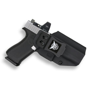 Glock 48 G48 MOS RDS Red Dot Optic Cut IWB KYDEX Concealed Carry Holster