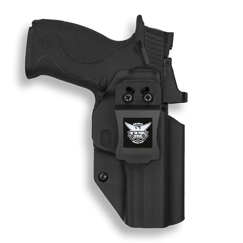 Smith & Wesson M&P / M2.0 9/40 with Manual Safety Pro RDS Red Dot Optic Cut KYDEX IWB Concealed Carry Holster