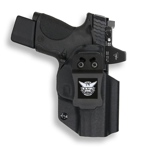 Smith & Wesson M&P 9C/40C / M2.0 with Manual Safety Pro RDS Red Dot Optic Cut IWB KYDEX Concealed Carry Holster