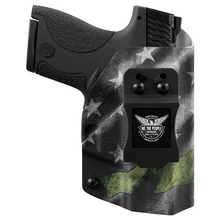 Smith & Wesson M&P 9C/40C / M2.0 with Manual Safety Pro RDS Red Dot Optic Cut IWB Holster