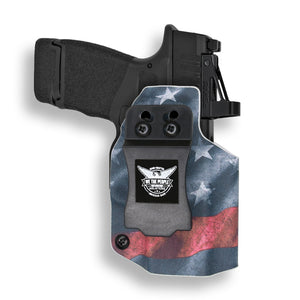 "Springfield Hellcat 3"" Micro-Compact 9mm OSP RDS Red Dot Optic Cut IWB KYDEX Concealed Carry Holster"