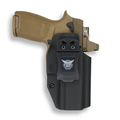 Sig Sauer P320C with Manual Safety RDS IWB Holster