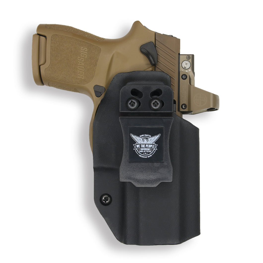 Sig Sauer P320SC with Manual Safety RDS IWB Holster